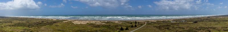 Vor Horizont zu Horizont: die 90 Mile Beach erscheint endlos