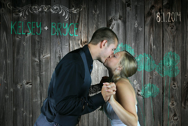 Kelsey + Bryce PhotoBooth