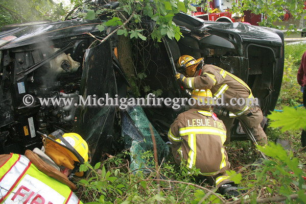 6/2/13 - Leslie extrication, Kirby east of Oak