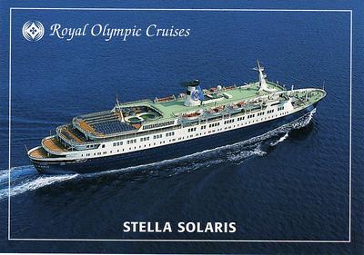 Mediterranean & Aegean Cruise--1998
