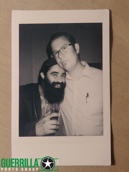 Rip and Efrain on Fuji Instax Monochrome