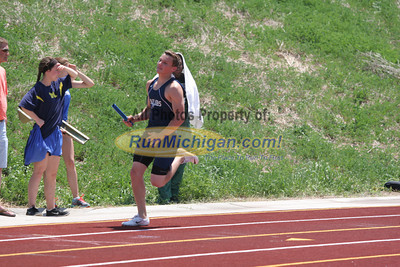 D1 Boys' 4x100M Relay - 2014 MHSAA LP T&F Finals