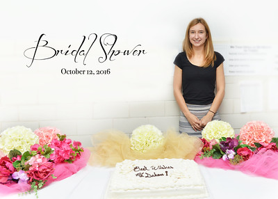 Ms. Ellen Dohan's Bridal Shower - Oct. 12, 2016