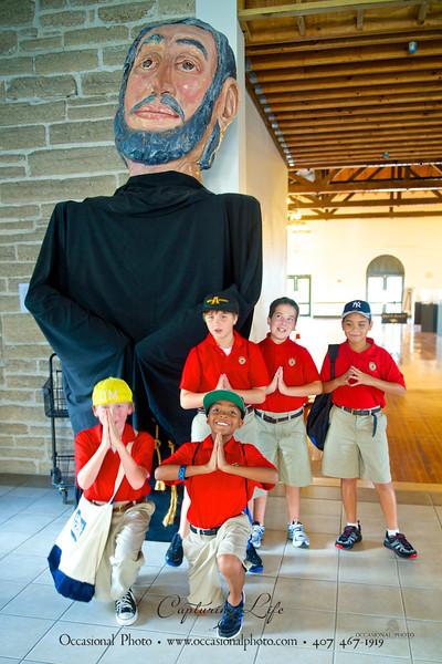 Fifth Grade St. Augustine Field Trip, 2012-09-21