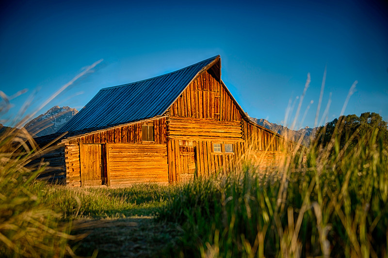 Moulton Barn, Grand Tetons