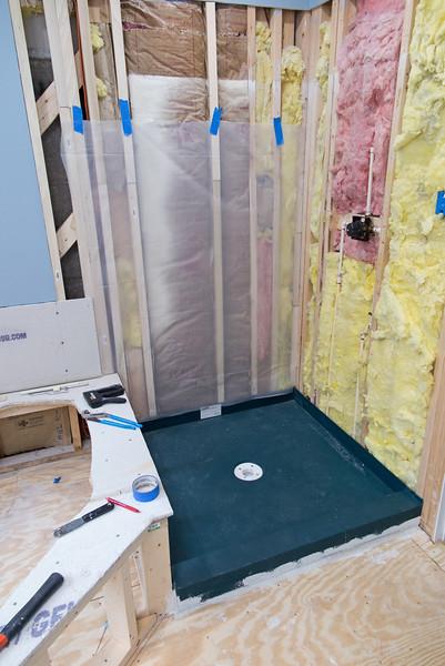 Bathroom Mod Blog Six - Plumbing and Shower