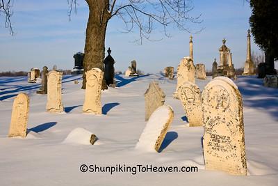 Cemeteries in Winter