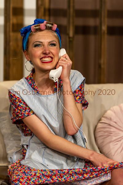 Burgess Hill Girls Noises Off Cast B