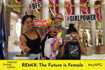 National Portrait Gallery REMIX: The Future is Female