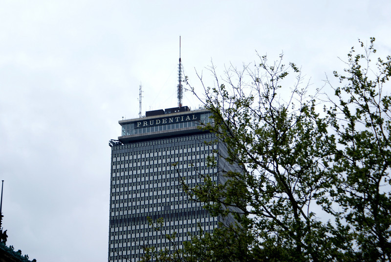 "The Pru: Boston's Prudential Building, known locally as ""The Pru"""