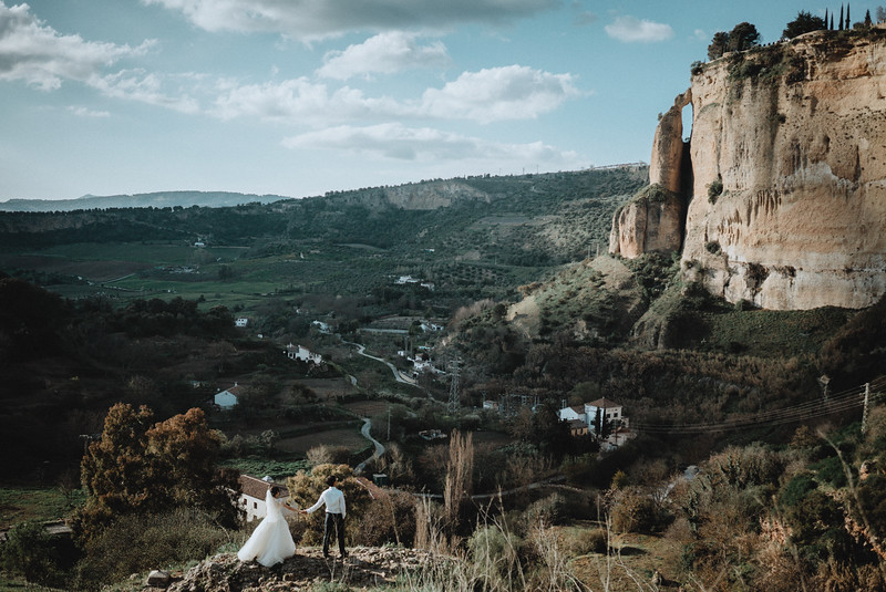 L + D | Epic Spain Andalusia Elopement