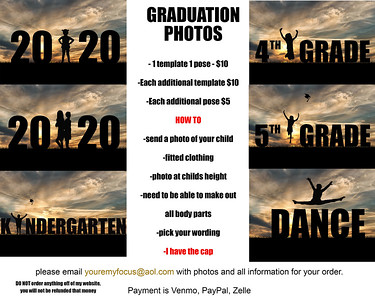 Silhouette Graduation Photos
