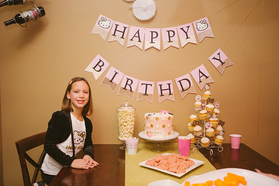 Whitley's 8th Birthday