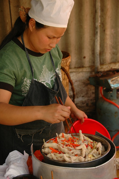 Chili-Marinated Chicken Feet - Yunnan, China