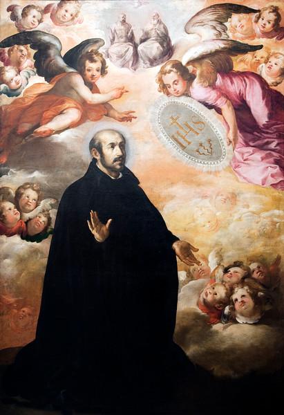 Saint Ignatius of Loyola, painting by Francisco Herrea the Elder (1625), Fine Arts Museum, Seville, Spain