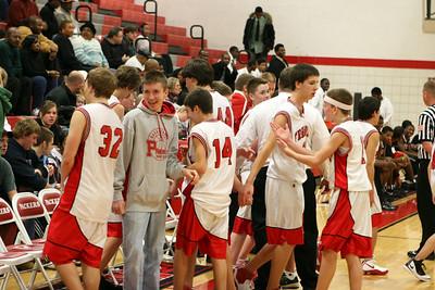 Boys JV Basketball - 1/6/2009 Muskegon Heights