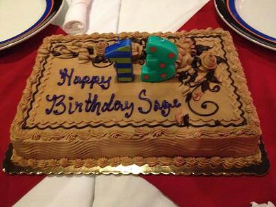 May 2012 - Sage's 13th Birthday