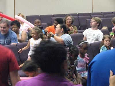 Nazarene church VBS, Fayetteville AR, July 2012