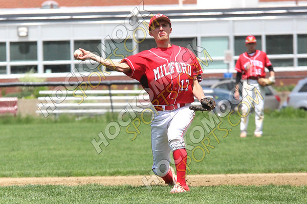 Milford-Sharon Baseball - 05-27-17