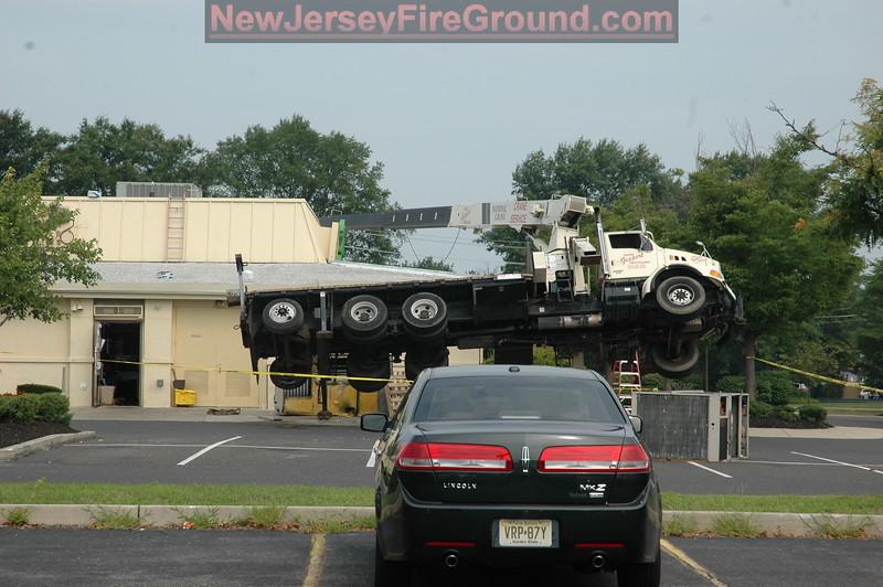 7-23-2010(Camden County)VOORHEES Lauel Oakl Rd. -Vehicle vs. Building