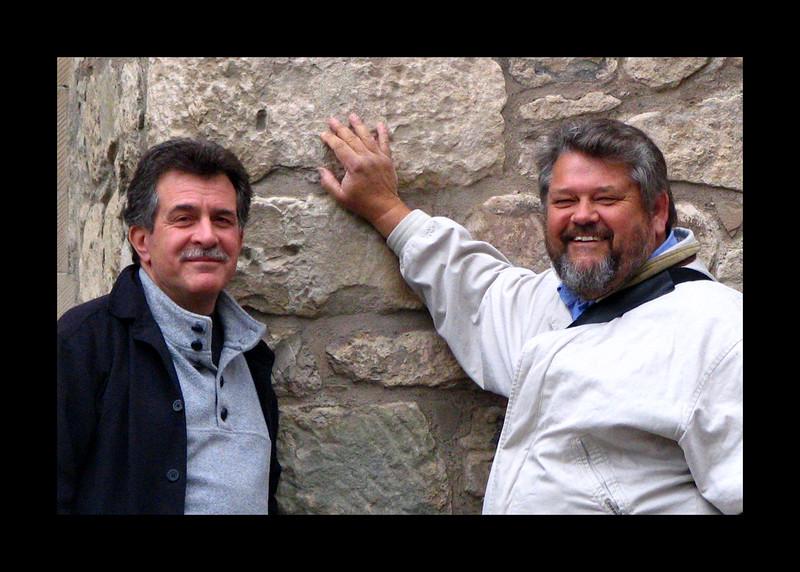 Jim and Dave Edinburgh 2005.jpg