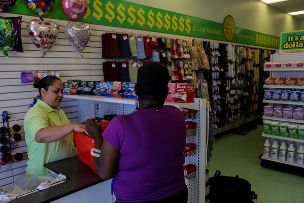 Smart Dollar Store Opening Day