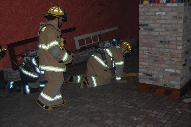 Search & Rescue Drill