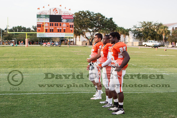 Boone Varsity Football #45 - 2012