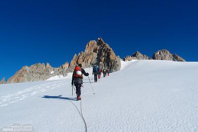Mont Blanc Massif alpine touring