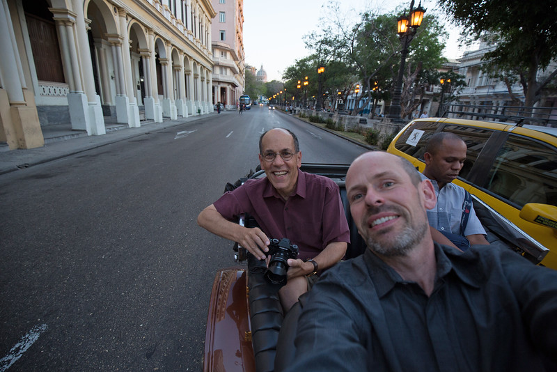 Havana, 2015, with world famous photographer John Greengo