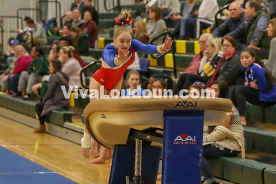 Gymnastics: Park View @ Loudoun Valley Tournament 1.25.2018 (By Jeff Scudder)