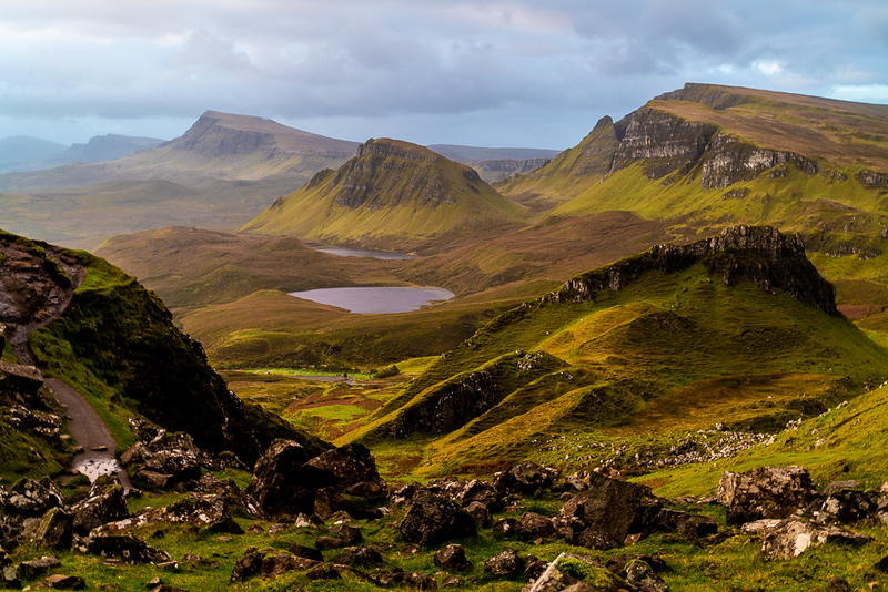 Quiraing Sunrise Skye