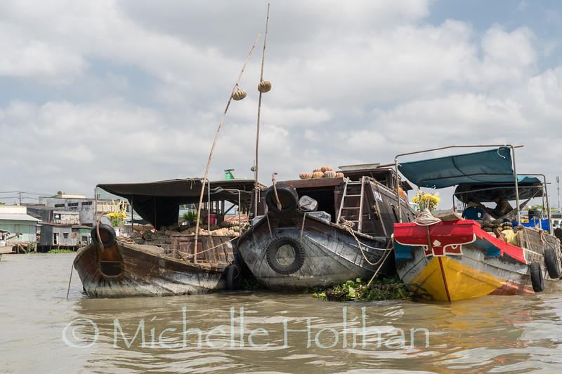 Cai Rang Floating Market, Cần Thơ, Vietnam