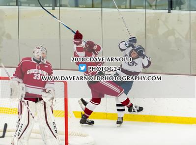 1/13/2018 - Boys Varsity Hockey - Belmont Hill vs Governor's Academy