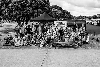Skating fundraiser for Australian Fires - Raglan Skatepark Jan 2020