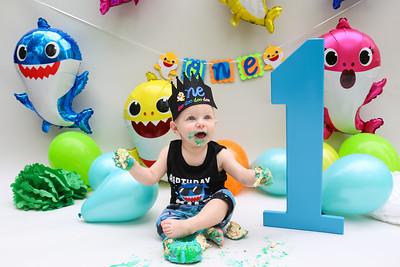 Dax's 1 Year Portraits & Cake Smash
