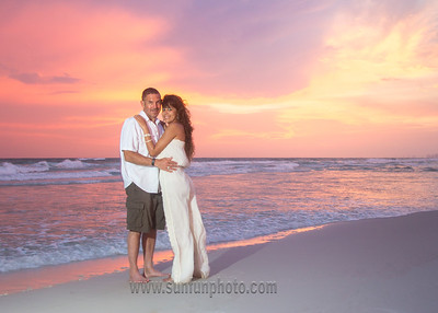 Stephanie and Ken Panama City Beach 2015 - Sun Fun Photo