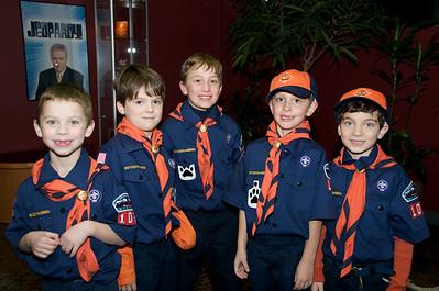 Tiger Cubs WDIV Trip 1-6-09