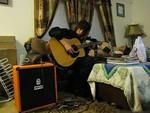 2011-1105 (Tony playing music)