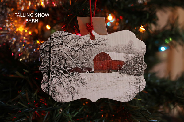 Barns of Calvert - Canvas Ornaments