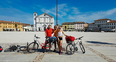 Villach-Grado mit Rad - August 2017