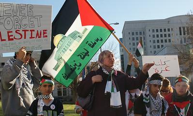 Gaza Attack Protests Denver & Boulder 11/17/12