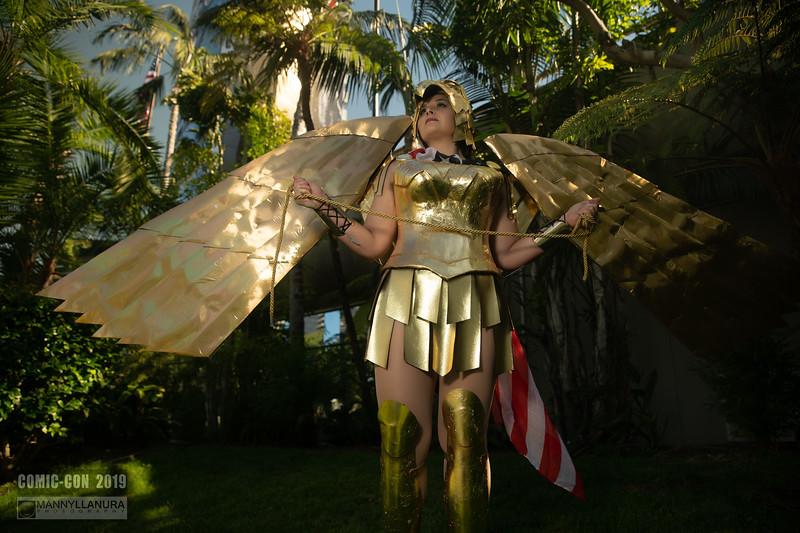Gold Wonder Woman