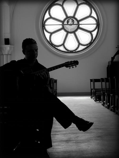 Gypsy Jazz guitarist Doug Martin, 2009 Shanghai