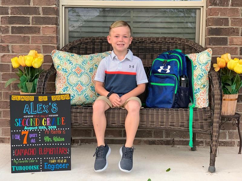 Alex | 2nd grade | Camacho Elementary