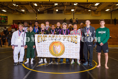 Greater Middlesex Conference Boys Championships 02-01-2020