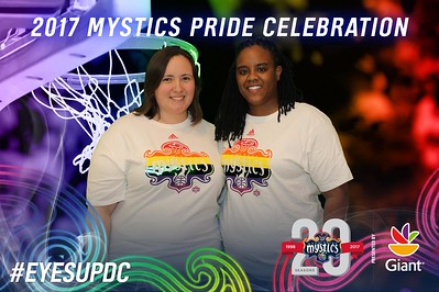 Washington Mystics Pride Night: 6/9/2017