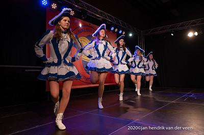 Carnaval-Dansmarieke festival De Kloosterwiekers 2020