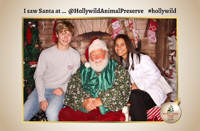 Hollywild Santa Photos - 120119