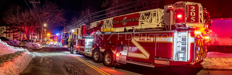 Residential Structure Fire -  Wisner Ave - City of Newburgh Fire Department - 2/6/2021